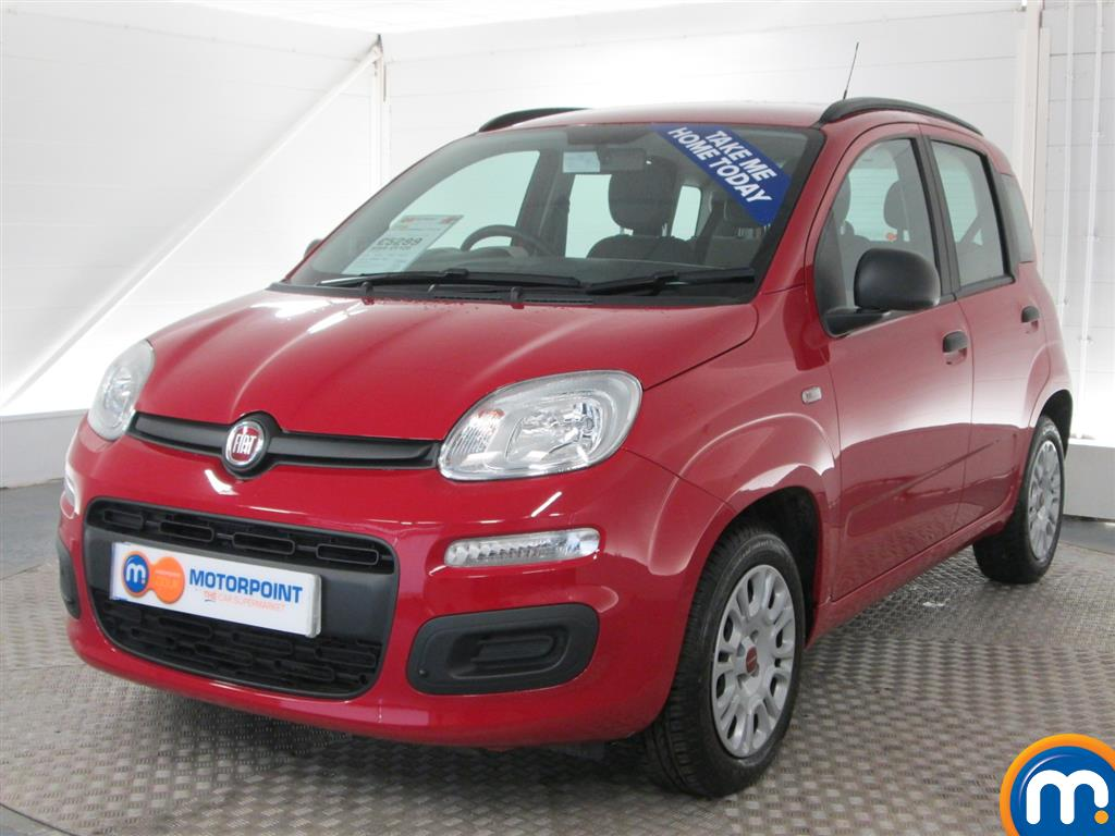 used or nearly new fiat panda 1 2 easy 5dr cancan red for sale in peterborough motorpoint. Black Bedroom Furniture Sets. Home Design Ideas