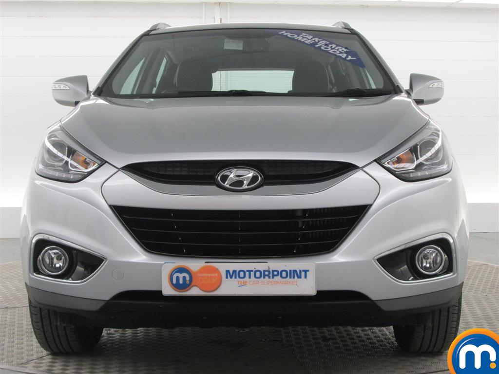 Used or nearly new hyundai ix35 1 7 crdi se nav 5dr 2wd silver for