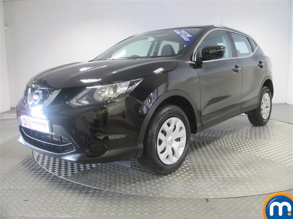 used or nearly new nissan qashqai 1 2 dig t visia 5dr. Black Bedroom Furniture Sets. Home Design Ideas