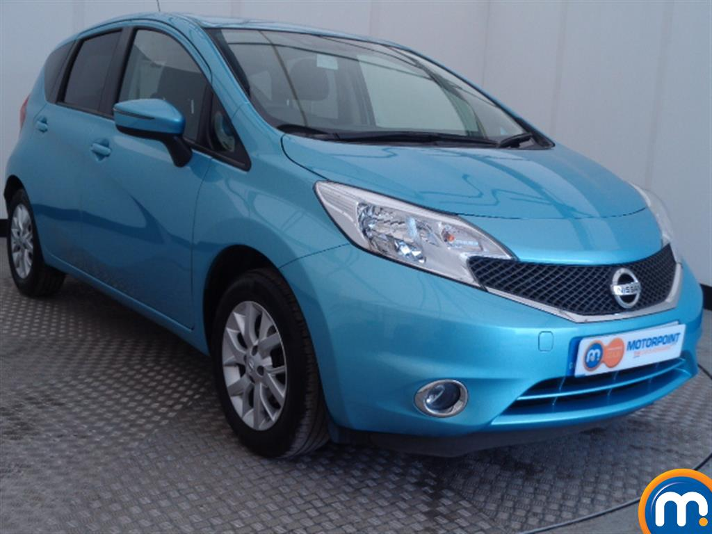 used or nearly new nissan note 1 2 acenta 5dr blue for. Black Bedroom Furniture Sets. Home Design Ideas