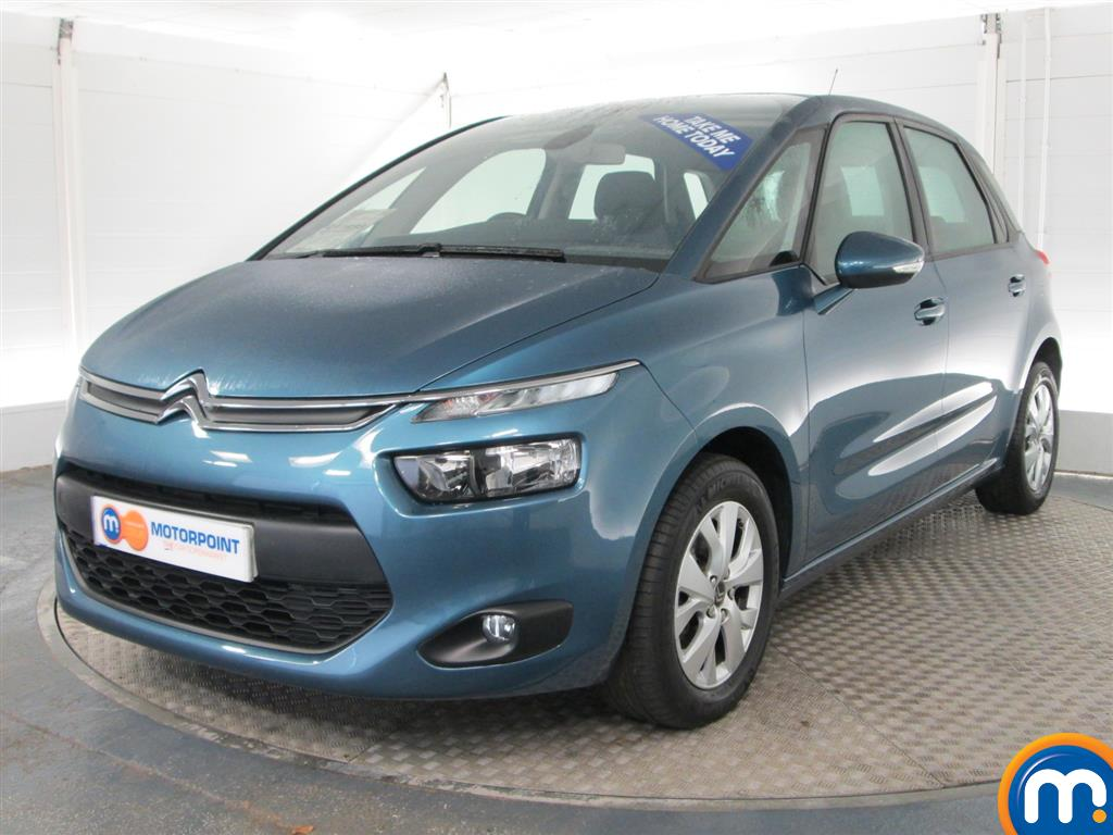 used or nearly new citroen c4 picasso 1 6 hdi vtr plus 5dr blue for sale in peterborough. Black Bedroom Furniture Sets. Home Design Ideas