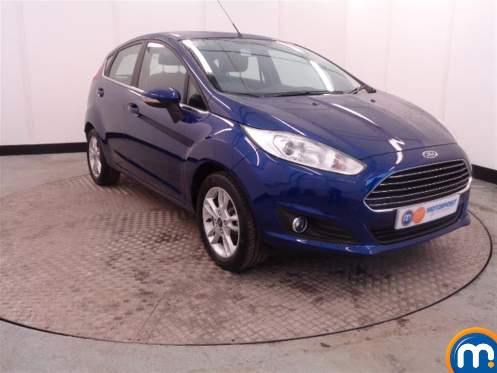 Used Or Nearly New Ford Fiesta 82 Zetec 5dr Blue For