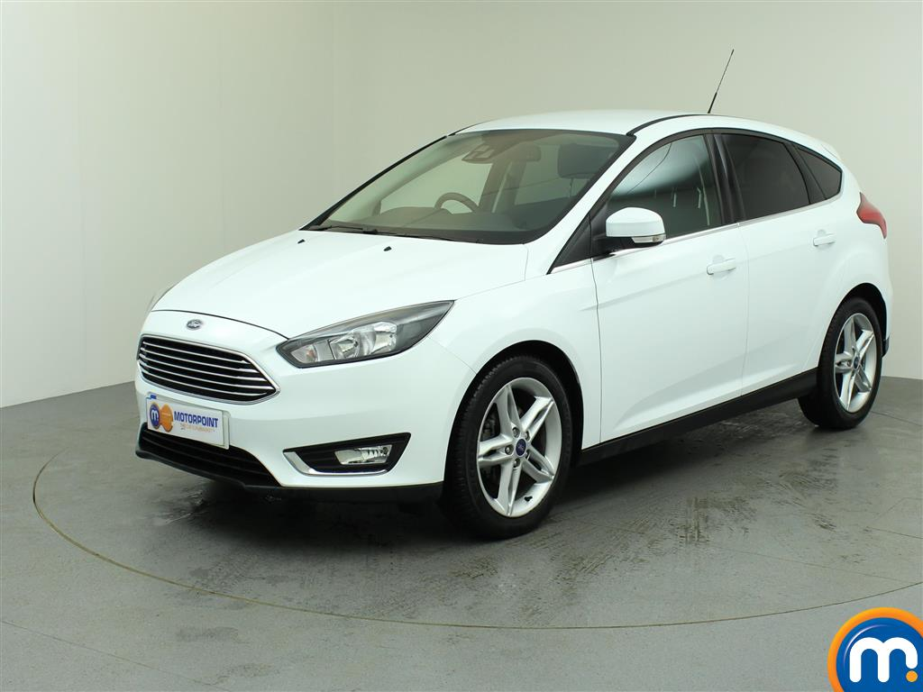used or nearly new ford focus 1 6 tdci 115 titanium. Black Bedroom Furniture Sets. Home Design Ideas
