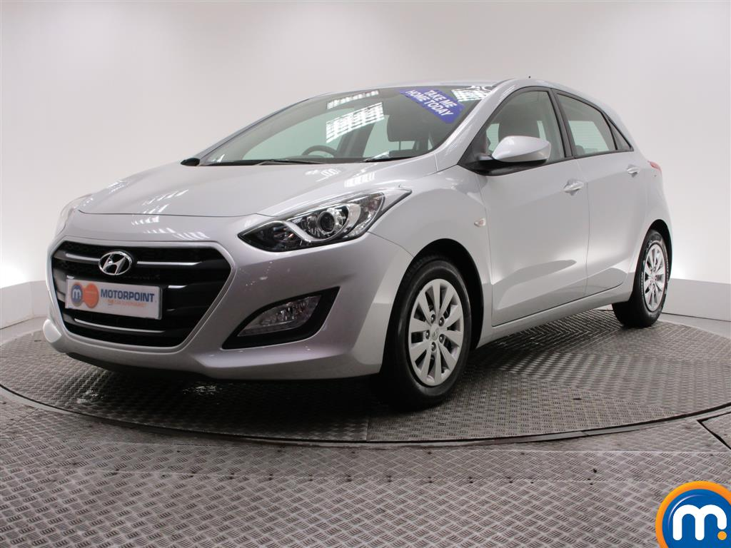 Used or nearly new hyundai i30 1 6 crdi blue drive s 5dr silver for