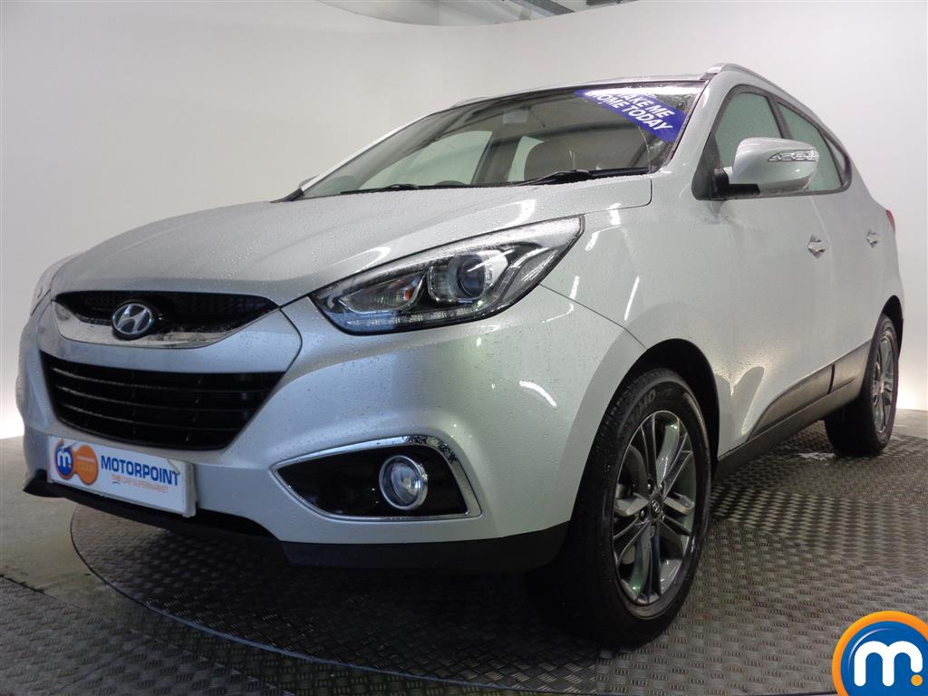 used or nearly new hyundai ix35 2 0 crdi se nav 5dr auto silver for sale in glasgow motorpoint. Black Bedroom Furniture Sets. Home Design Ideas