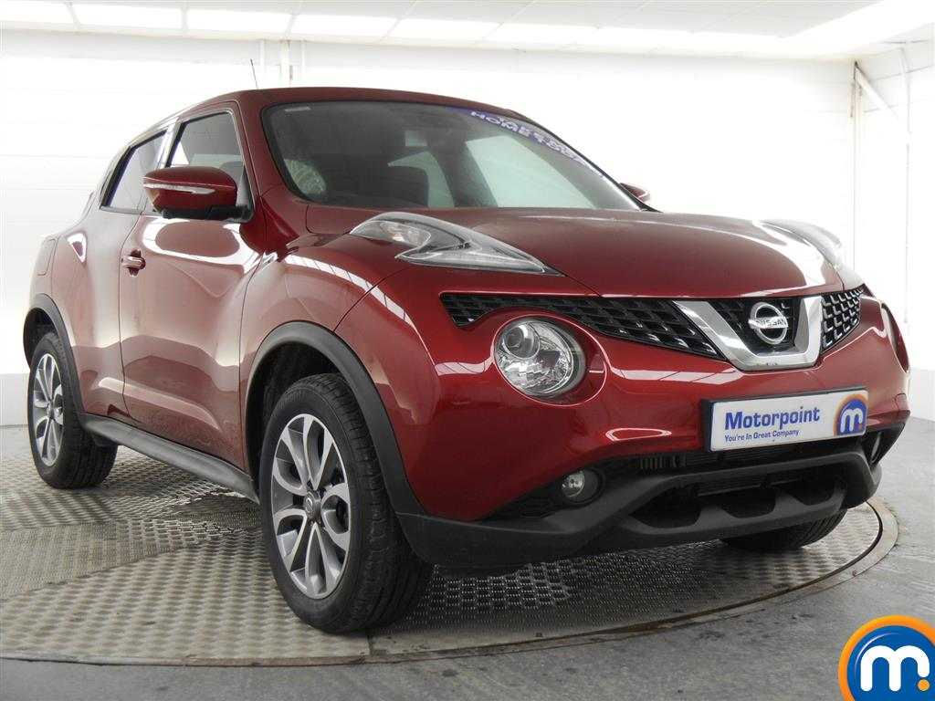 used or nearly new nissan juke 1 5 dci tekna 5dr red for. Black Bedroom Furniture Sets. Home Design Ideas