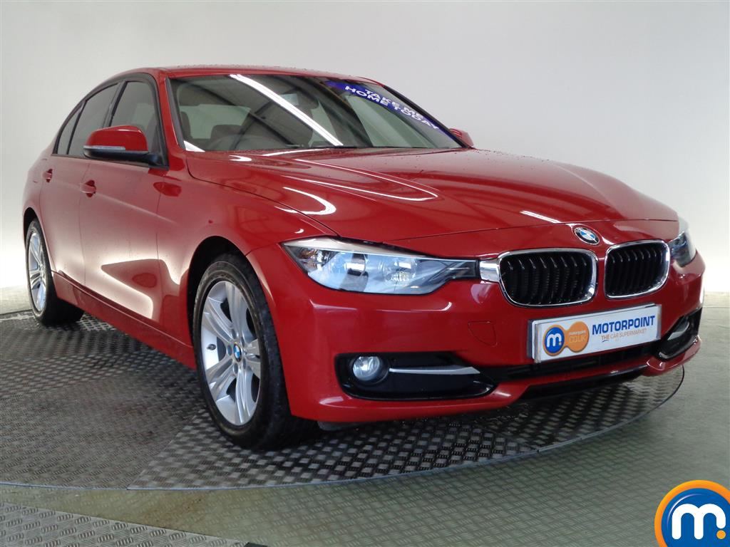 used or nearly new bmw 3 series 316d sport 4dr business media red for sale in glasgow motorpoint. Black Bedroom Furniture Sets. Home Design Ideas