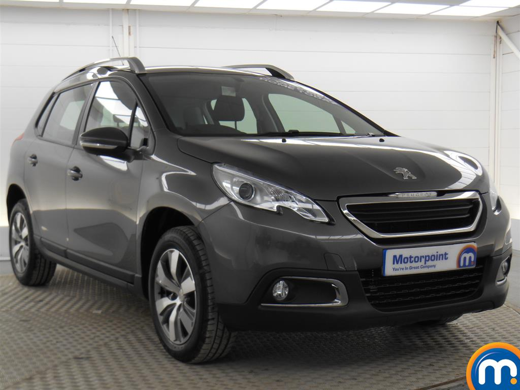 used or nearly new peugeot 2008 1 2 puretech active estate silver for sale in derby motorpoint. Black Bedroom Furniture Sets. Home Design Ideas