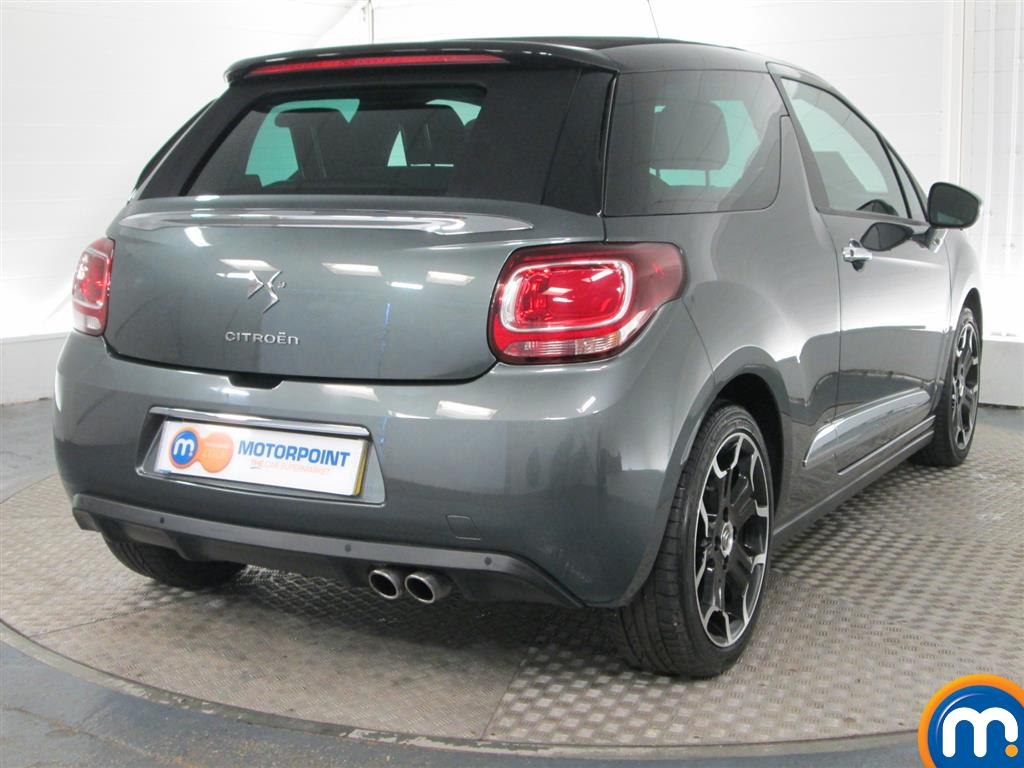 used or nearly new citroen ds3 1 6 thp dsport plus convertible silver for sale in peterborough. Black Bedroom Furniture Sets. Home Design Ideas