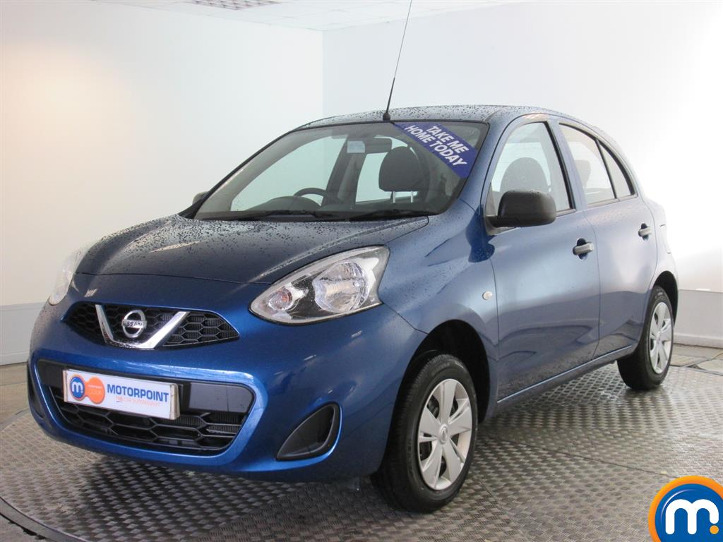 used or nearly new nissan micra 1 2 visia 5dr blue for. Black Bedroom Furniture Sets. Home Design Ideas