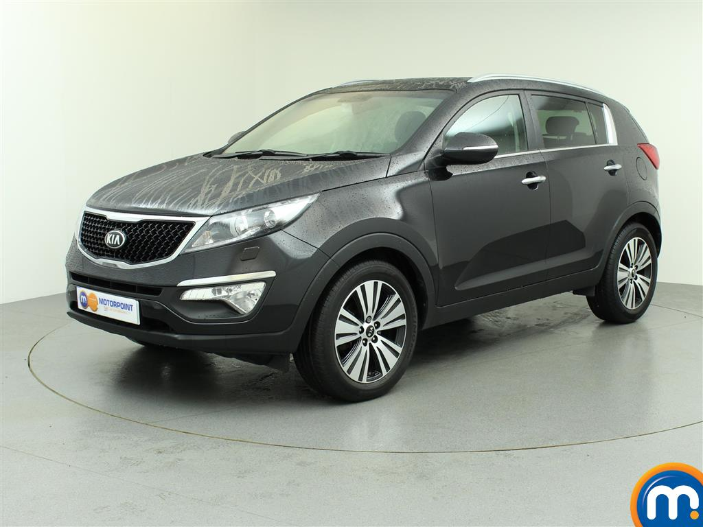 used or nearly new kia sportage 1 7 crdi isg 3 5dr black for sale in birtley motorpoint. Black Bedroom Furniture Sets. Home Design Ideas