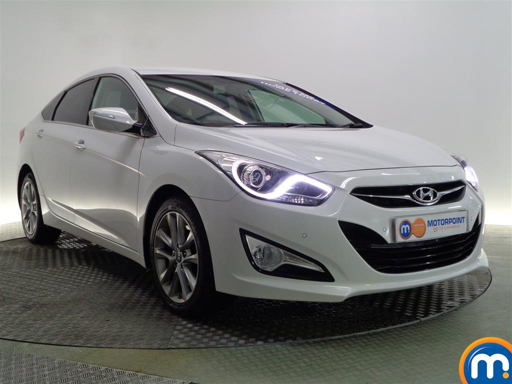 used or nearly new hyundai i40 1 7 crdi 136 style 4dr auto white for sale in glasgow motorpoint. Black Bedroom Furniture Sets. Home Design Ideas