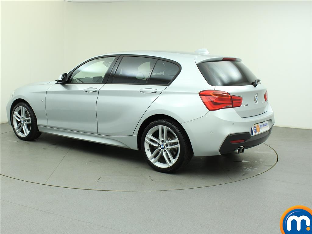 used or nearly new bmw 1 series 120d xdrive m sport 5dr step auto prof media silver for sale. Black Bedroom Furniture Sets. Home Design Ideas
